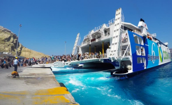 santorini port transfers